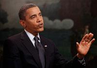 Obama interviewe
